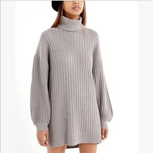 URBAN OUTFITTERS JILL TURTLENECK DRESS